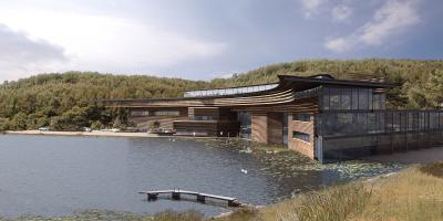 Competition Design For Headquarters For Scottish Natural Heritage, Inverness