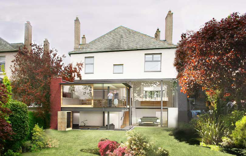 House Extension, Ravelston, Edinburgh