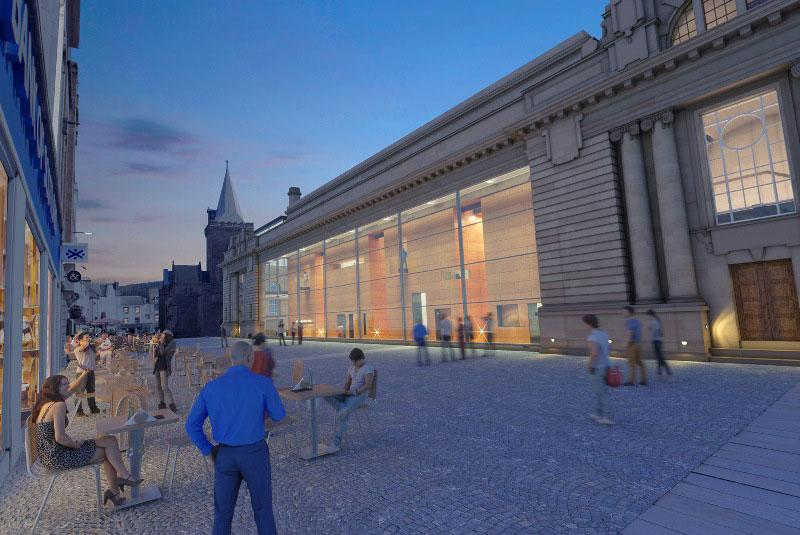 Perth City Hall & Arts Gallery Competition Entry