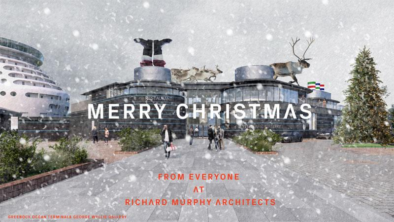 Happy Christmas from Richard Murphy Architects